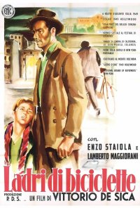 Poster do filme Ladrões de Bicicletas (reposição) / Ladri di biciclette (1948)