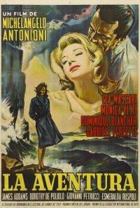 Poster do filme A Aventura (reposição) / L'avventura (1960)