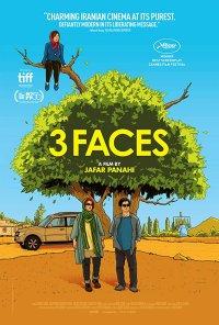 Poster do filme 3 Faces / Se Rokh / Three Faces (2018)