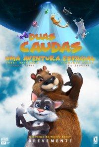 Poster do filme Duas Caudas: Uma Aventura Espacial / Два хвоста / Two Tails (2018)