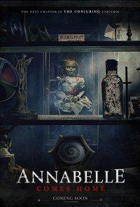 Poster do filme Annabelle 3: O Regresso A Casa / Annabelle Comes Home (2019)
