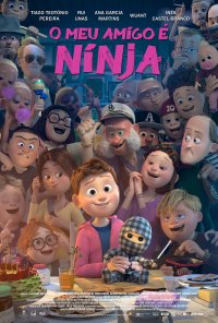 Poster do filme O Meu Amigo É Ninja / Ternet Ninja / Checkered Ninja (2018)