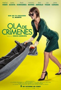Poster do filme Ola de crímenes (2018)