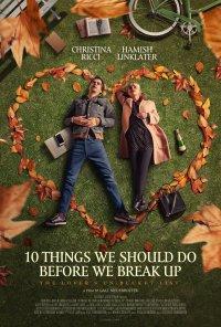 Poster do filme 10 Coisas a Fazer Antes de Acabarmos / 10 Things We Should Do Before We Break Up (2020)