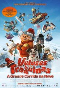 Poster do filme Velozes & Traquinas: A Grande Corrida na Neve / La course des Tuques / Racetime (2018)