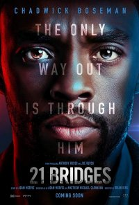 Poster do filme 21 Bridges (2019)