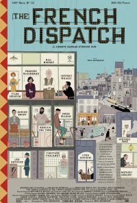 Poster do filme The French Dispatch (2020)