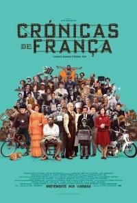 Poster do filme Crónicas de França / The French Dispatch (2020)
