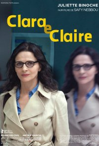 Poster do filme Clara e Claire / Celle que vous croyez (2019)
