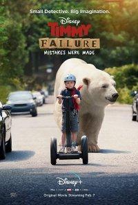 Poster do filme Timmy Fiasco: Sempre a Meter Água / Timmy Failure: Mistakes Were Made (2020)