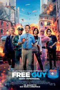 Poster do filme Free Guy: Herói Improvável / Free Guy (2020)