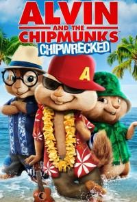 Poster do filme Alvin e os Esquilos 3: Naufragados / Alvin and the Chipmunks: Chipwrecked (2011)