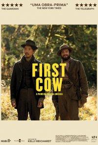 Poster do filme First Cow - A Primeira Vaca da América / First Cow (2020)