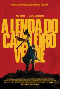 Poster do filme A Lenda do Cavaleiro Verde / The Green Knight (2021)