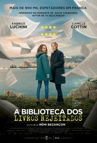 Poster do filme A Biblioteca dos Livros Rejeitados / Le Mystère Henri Pick (2019)