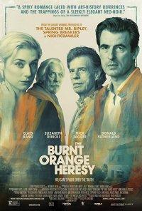 Poster do filme A Cor da Ambição / The Burnt Orange Heresy (2020)