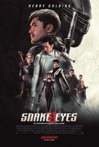 Poster do filme Snake Eyes: A Origem dos G.I. Joe / Snake Eyes: G.I. Joe Origins (2021)