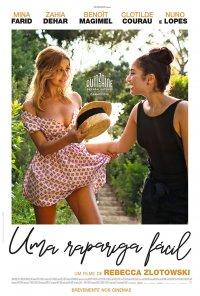 Poster do filme Uma Rapariga Fácil / Une Fille Facile (2019)
