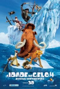 Poster do filme A Idade do Gelo 4: Deriva Continental / Ice Age: Continental Drift (2012)