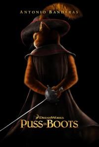 Poster do filme O Gato das Botas / Puss in Boots (2011)