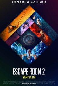 Poster do filme Escape Room 2: Sem Saída / Escape Room: Tournament of Champions (2021)