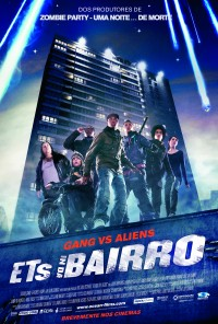 Poster do filme ETs in da Bairro / Attack the Block (2011)