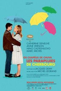 Poster do filme Chapéus-de-Chuva de Cherburgo (reposição) / Les Parapluies de Cherbourg (1964)