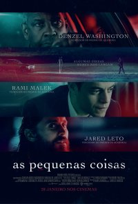 Poster do filme As Pequenas Coisas / The Little Things (2021)