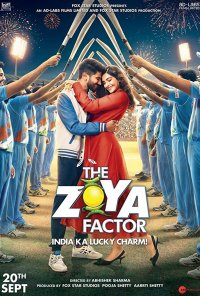 Poster do filme The Zoya Factor (2019)