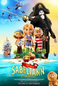Poster do filme Kaptein Sabeltann og den magiske diamant / Captain Sabertooth and the Magical Diamond (2019)