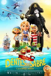 Poster do filme Capitão Dentes de Sabre e o Diamante Mágico / Kaptein Sabeltann og den magiske diamant / Captain Sabertooth and the Magical Diamond (2020)