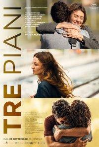 Poster do filme Três Andares / Tre piani (2021)