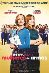 Poster do filme Mulheres de Armas / Military Wives (2020)