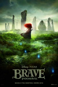 Poster do filme Indomável / Brave (2012)