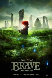 Poster do filme Indomável / Brave (2012)