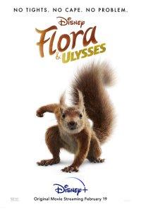 Poster do filme As Aventuras de Flora e Ulisses / Flora & Ulysses (2021)