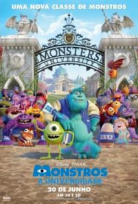 Poster do filme Monstros: A Universidade / Monsters University (2013)