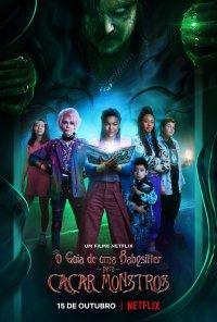 Poster do filme O Guia de uma Babysitter para Caçar Monstros / A Babysitter's Guide to Monster Hunting (2020)