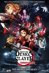 Poster do filme Demon Slayer - Kimetsu No Yaiba - O Filme: Comboio Infinito / Kimetsu no Yaiba: Mugen Ressha-Hen (2020)