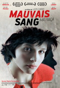 Poster do filme Má Raça / Mauvais Sang (1986)