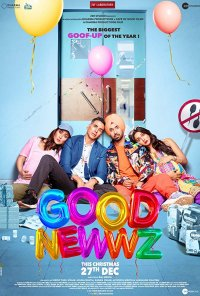 Poster do filme Good Newwz (2019)