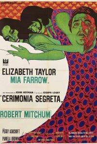 Poster do filme Cerimónia Secreta (reposição) / Secret Ceremony (1968)