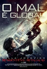 Poster do filme Resident Evil: Retaliação / Resident Evil: Retribution (2012)