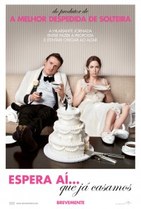 Poster do filme Espera Aí Que Já Casamos / The Five-Year Engagement (2012)