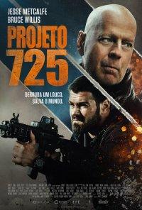 Poster do filme Projeto 725 / Hard Kill (2020)
