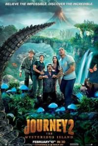 Poster do filme Viagem ao Centro da Terra 2: A Ilha Misteriosa / Journey 2: The Mysterious Island (2012)