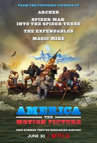 Poster do filme America: The Motion Picture (2021)