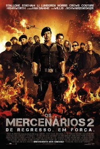 Poster do filme Os Mercenários 2 / The Expendables 2 (2012)