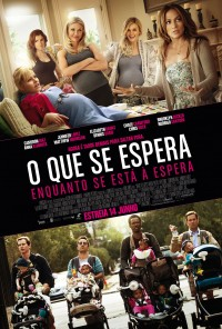 Poster do filme O Que se Espera Enquanto se Está à Espera / What to Expect When You're Expecting (2012)