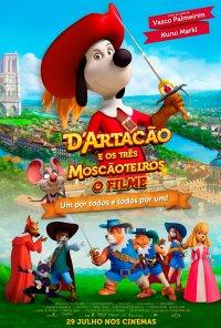 Poster do filme D'Artacão e os 3 Moscãoteiros / D'Artacán y los tres mosqueperros (2021)